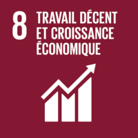 ODD #8 - Travail décent et croissance économique