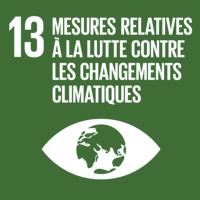 ODD #13 - Lutte contre les changements climatiques