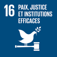 ODD #16 - Paix, justice et institutions efficaces