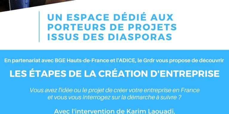Atelier Entre Porteurs De Projets (Initiatives Diasporas)